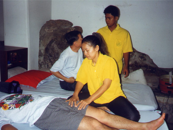 Head Massage (Therapists at Wat-Pho Medical & Massage complex)